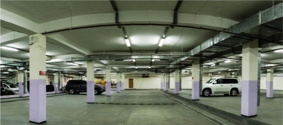 Подземный паркинг Бизнес центра