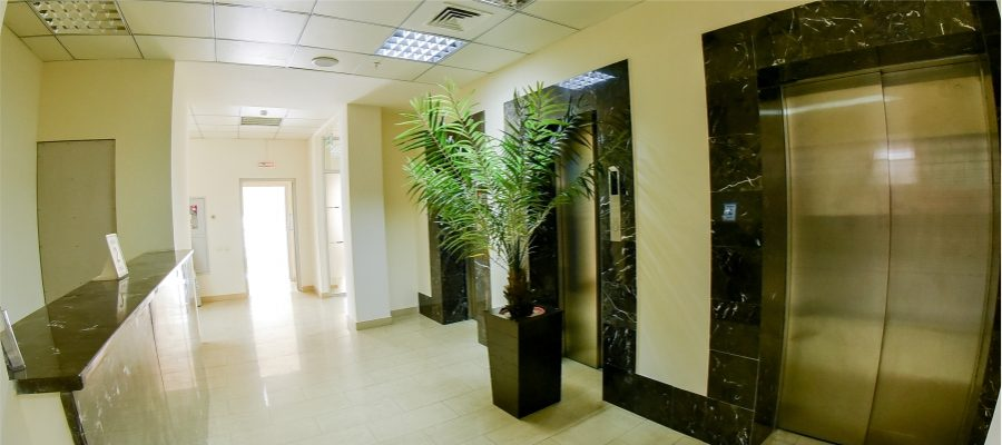 Лифтовая зона этажа